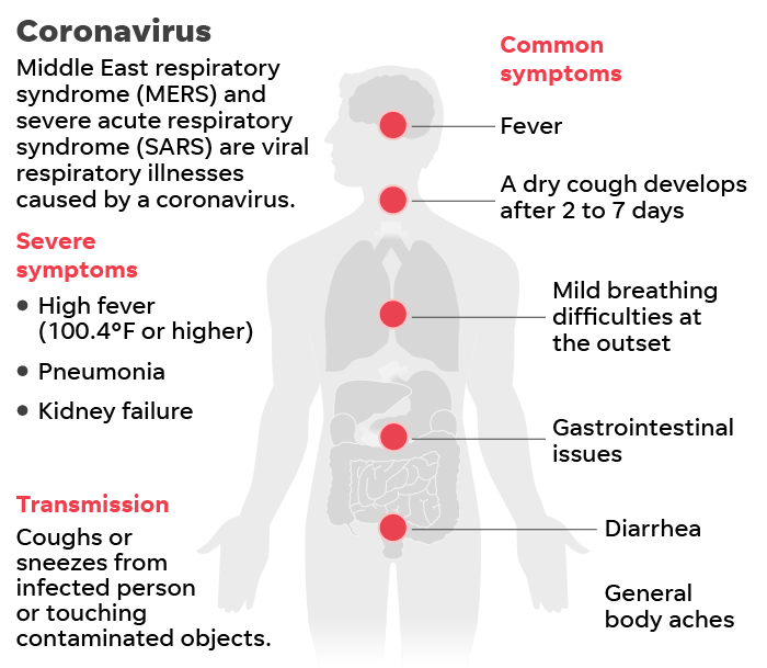 Coronavirus symptoms and what else to know about the virus, outbreak