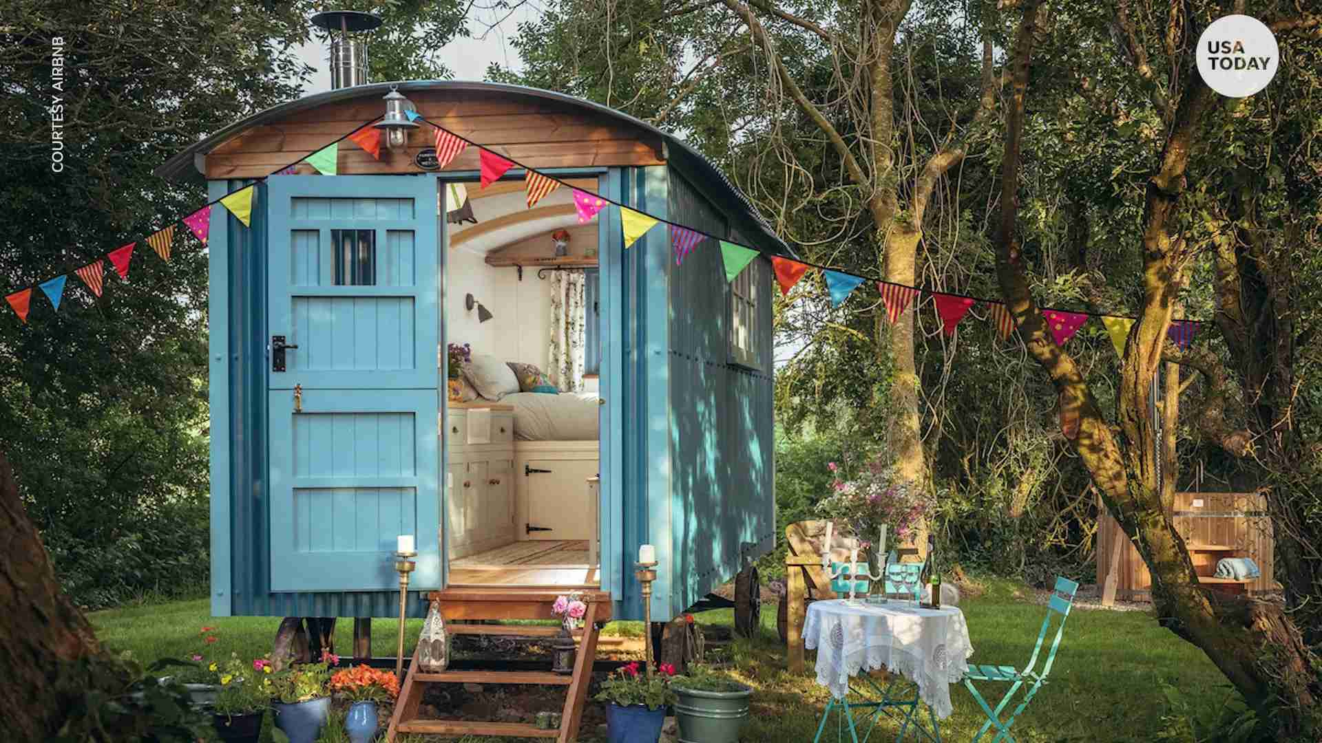 Airbnb Tiny Homes Shepherd S Huts Trend Grows For Travelers
