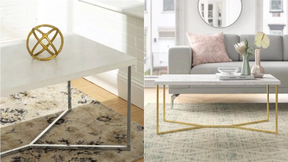 You'd be surprised how much a coffee table adds to a living space.