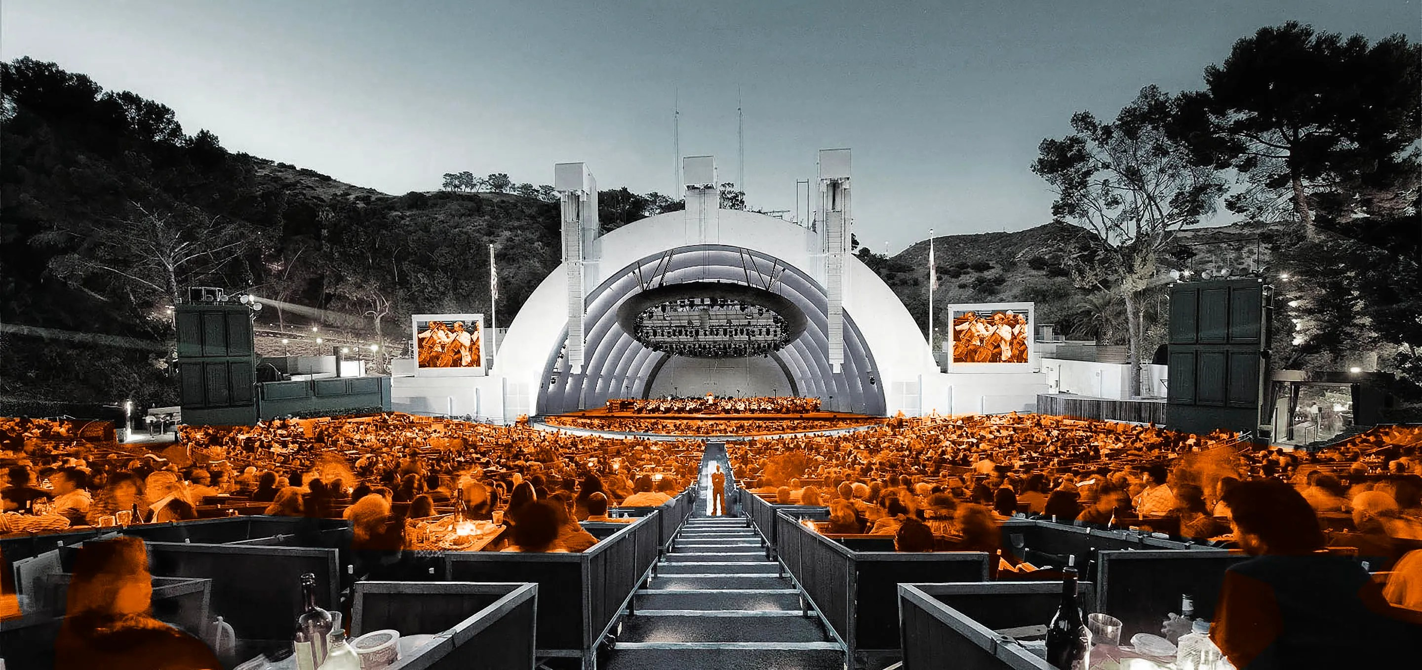 10 BEST MUSIC VENUES The legendary Hollywood Bowl, stands out for its acoustics, and is easily reached on foot from nearby Hollywood tourist sites.  HANDOUT Credit: Hollywoodbowl.com  Social Media Use OK  10 Best Music Venues for 10/10 - LA   [Via MerlinFTP Drop]
