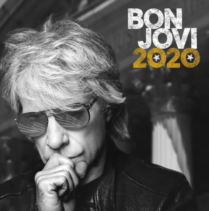 A different look for Bon Jovi on new '2020' album cover. 'Limitless' single