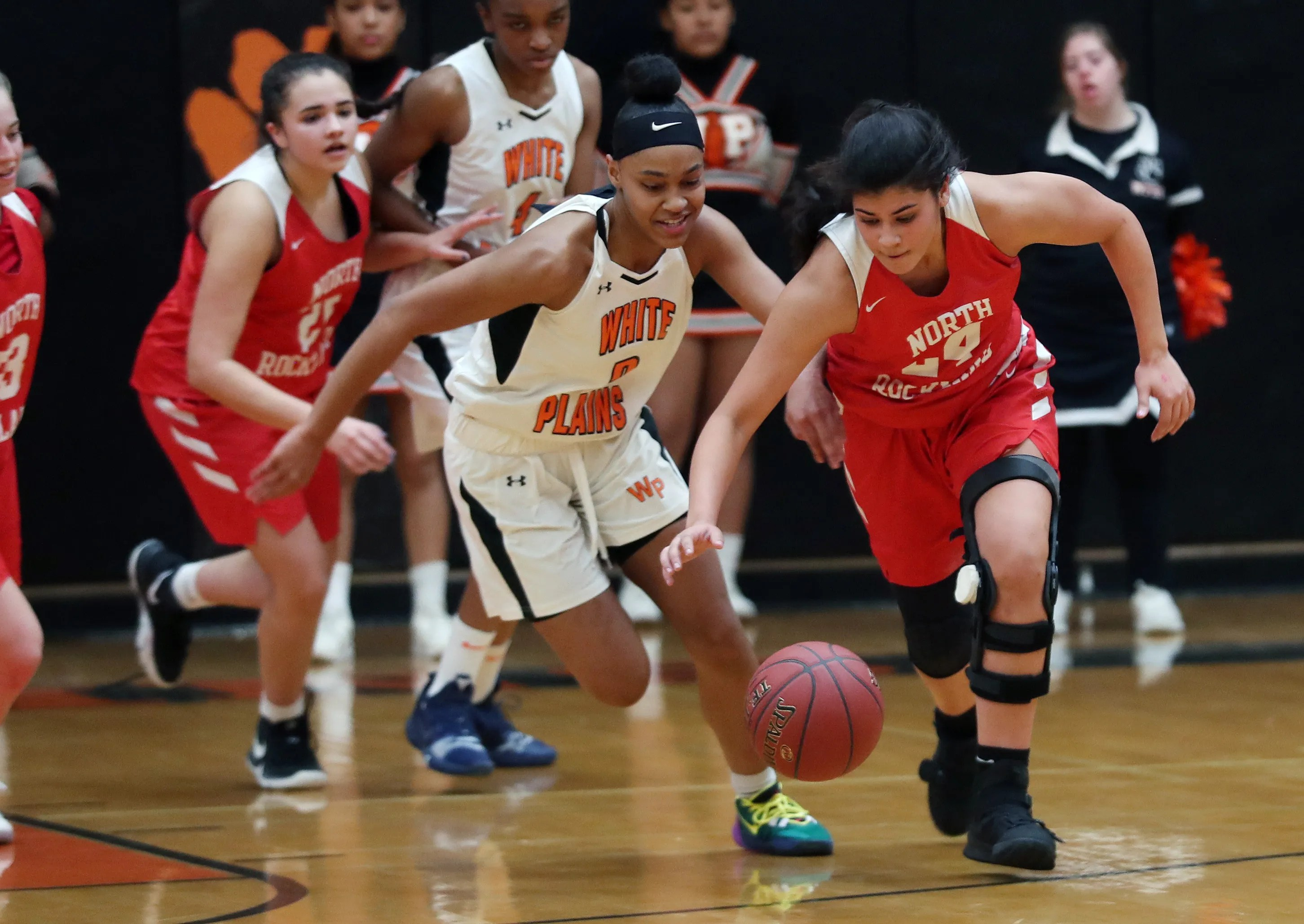 Girls Basketball White Plains Shows Promise In Class Aa