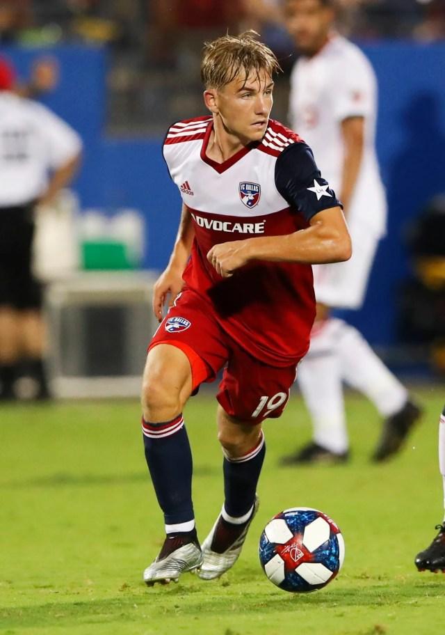 FC Dallas -- Paxton Pomykal, midfielder