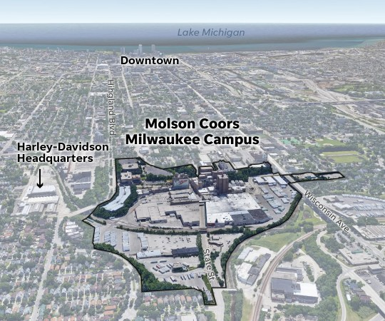 Multiple people were killed during a shooting rampage Wednesday afternoon on the Milwaukee campus of Molson Coors. More than 600 people work in the brewery and corporate offices west of downtown Milwaukee.