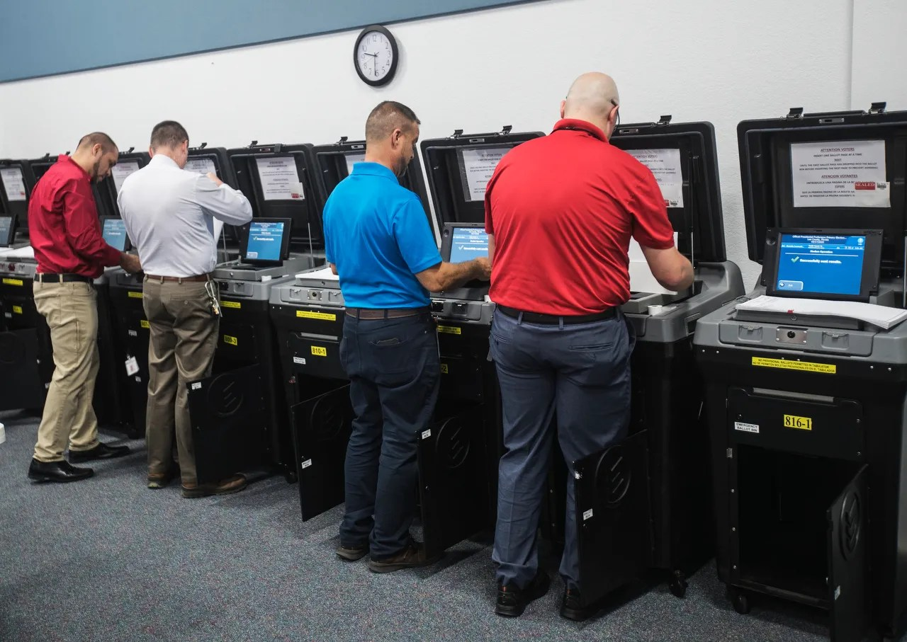 Coronavirus Florida: Polling stations losing workers amid fears of ...