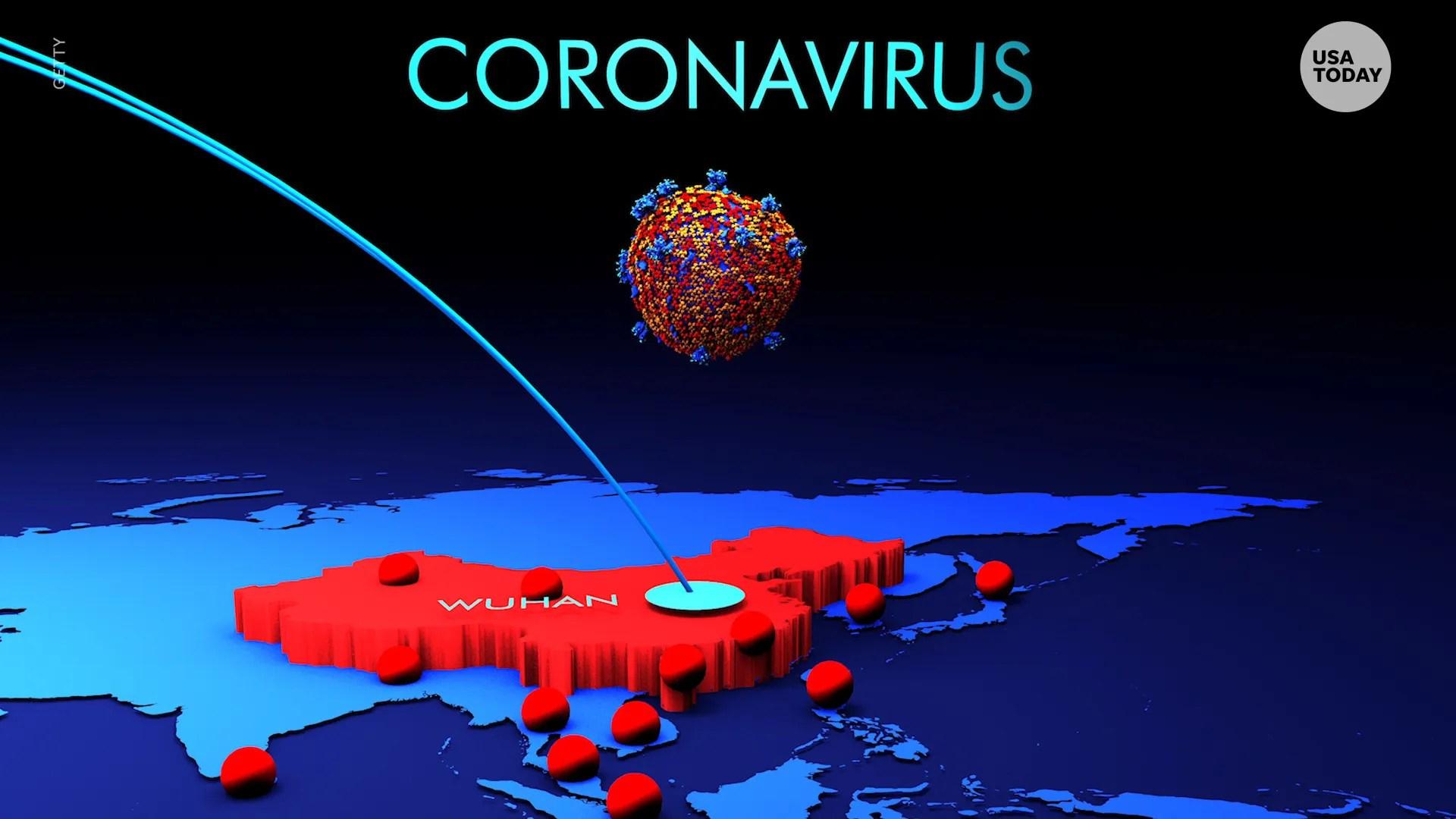 Coronavirus tracked across the US and world