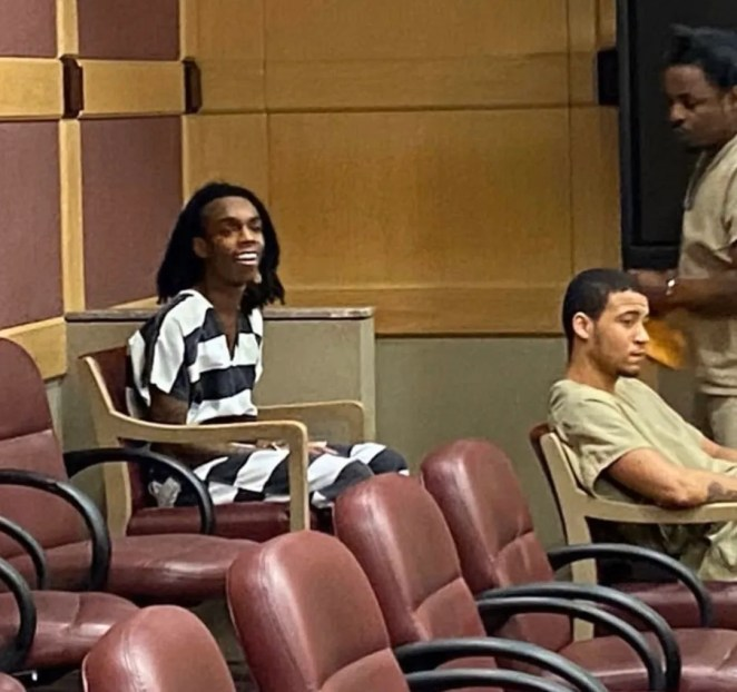 Jamell Demons, YNW Melly, of Gifford, appeared in a Broward County courtroom for his March 12, 2020, status hearing in his capital murder trial charged in the shooting deaths of Anthony Williams and Christopher Thomas Jr. on Oct. 26, 2018.