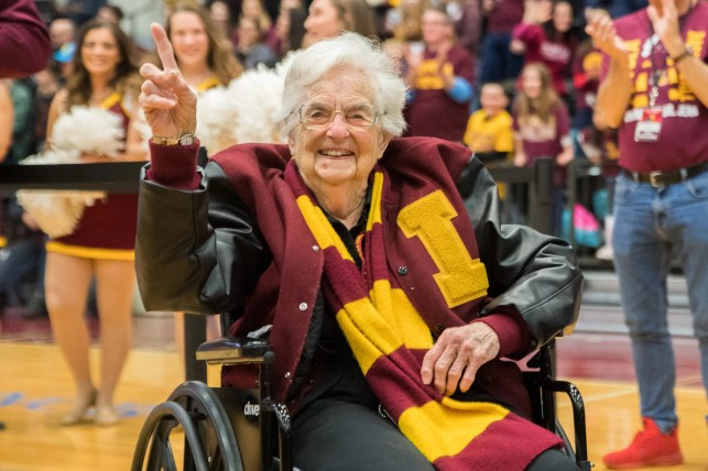 Former March Madness phenom Sister Jean returns, urges people to stay home amid coronavirus