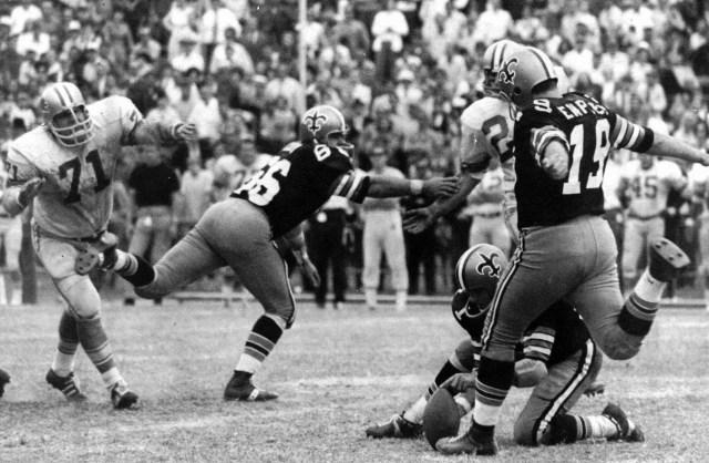 Tom Dempsey, former NFL kicker (He died on April 4 at 73.)