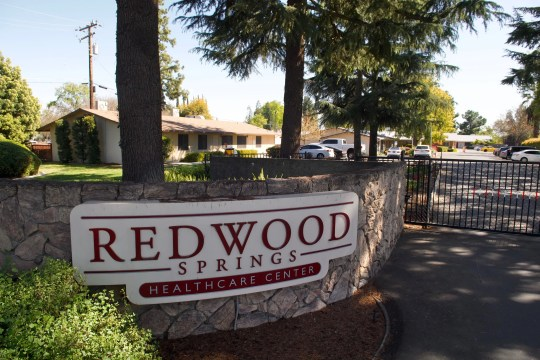 An epidemic of COVID-19 at the Visalia nursing home infected eight people, including six elderly people.