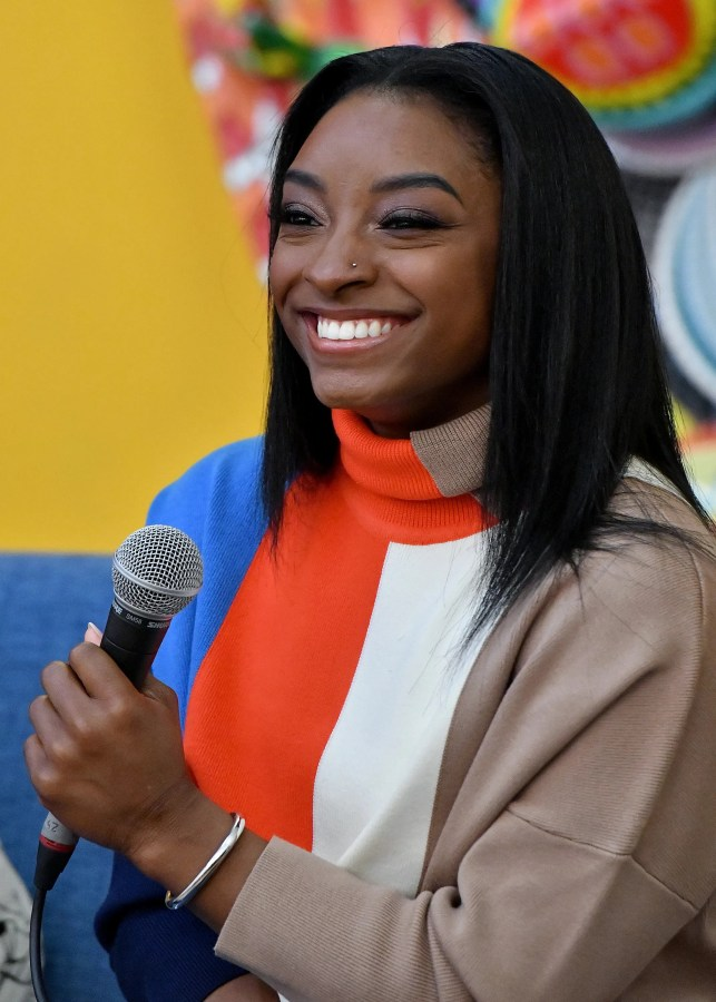 Opinion: Simone Biles is sitting at home like the rest of us, and she's not happy about it
