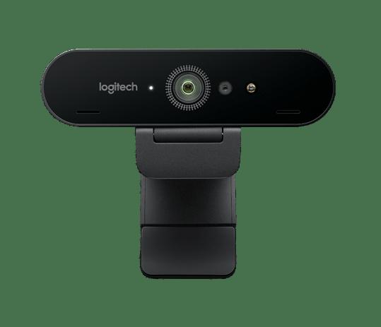 Logitech Brio is a webcam with 4K resolution
