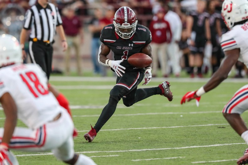 Detroit Lions get a B for drafting New Mexico State's Jason Huntley