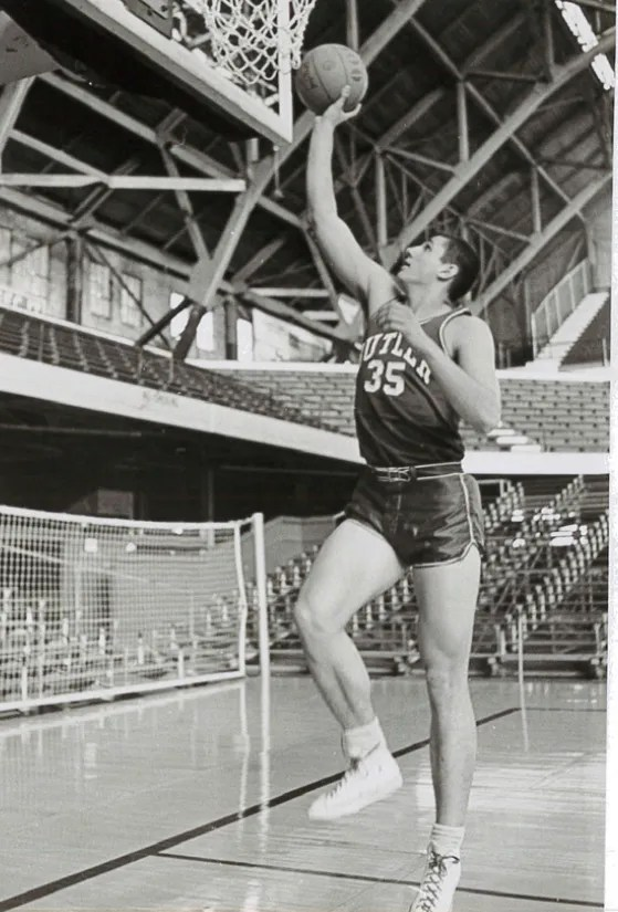 Ed Schilling Sr., former Butler player and Marian coach. He died April 30 at 75.