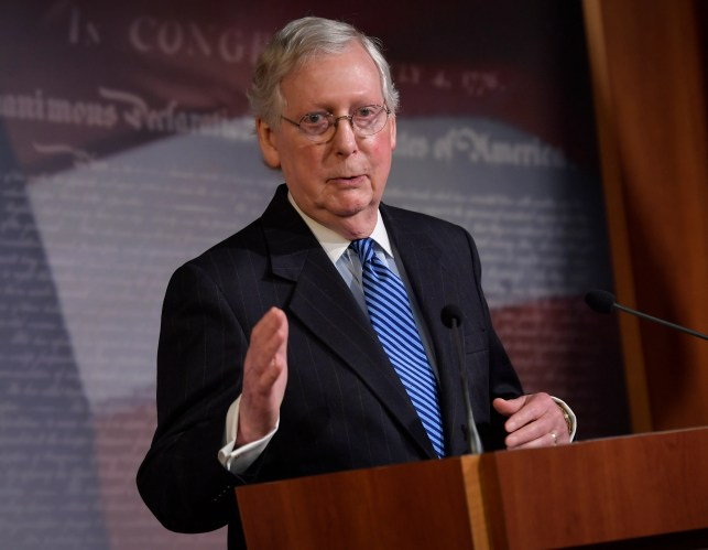 Senate leader Mitch McConnell to MLB commissioner Rob Manfred: 'America needs baseball'