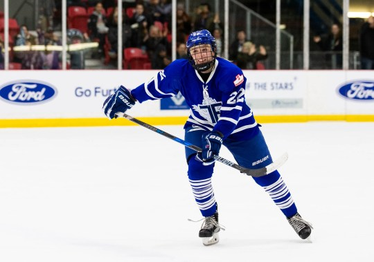 Brighton's Shiann Darkangelo is one of five players signed to play for the expansion team in Toronto in the National Women's Hockey League.