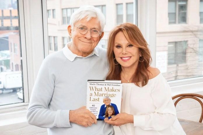 Marlo Thomas, Phil Donahue's book explores marriage with celeb couples