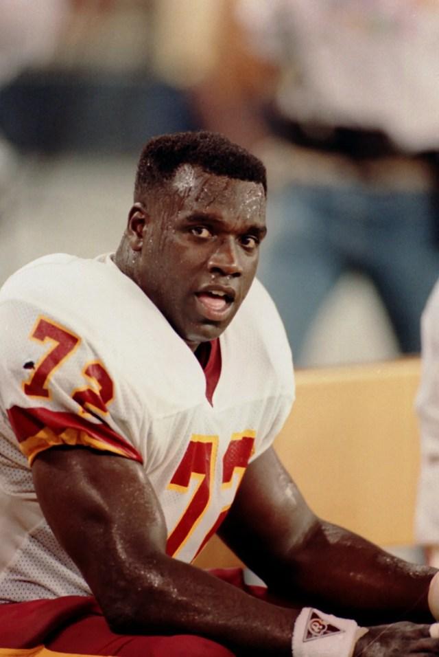 Dexter Manley, former NFL defensive lineman
