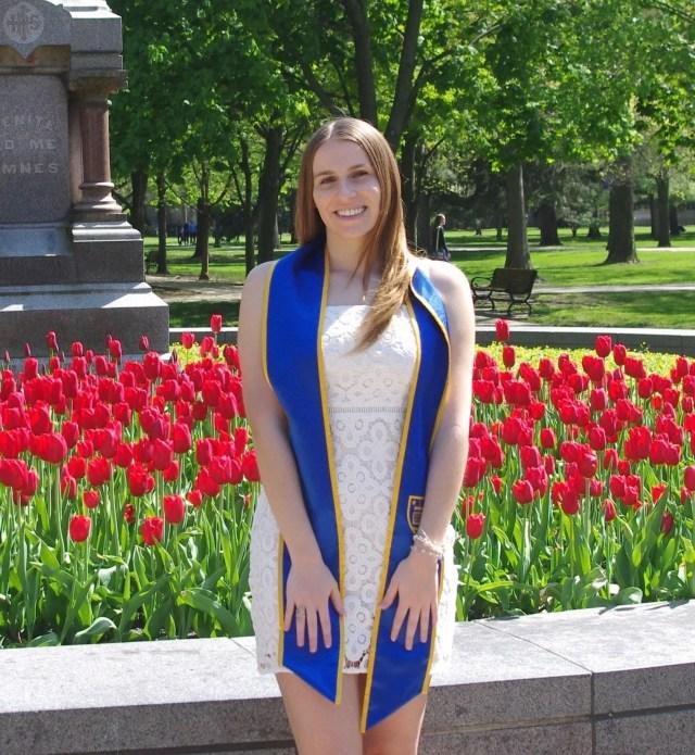 Christine Arcoleo, University of Notre Dame. Hometown: Bridgewater