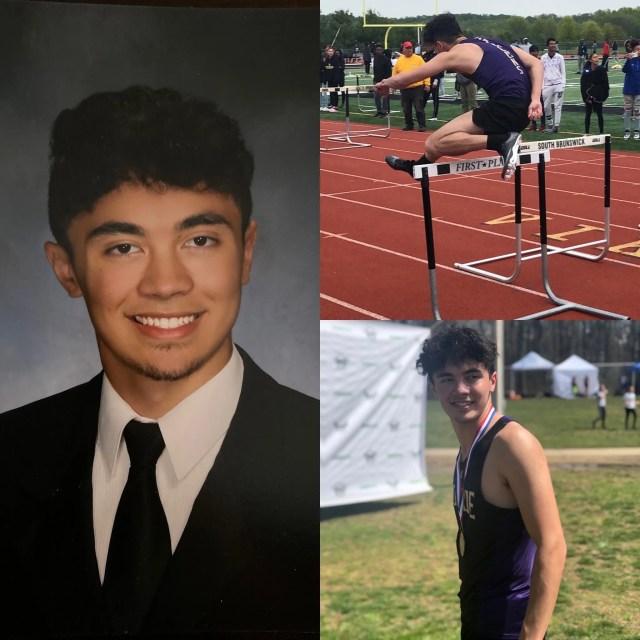 Matthew Tinitigan of Jamesburg, Monroe Township High School