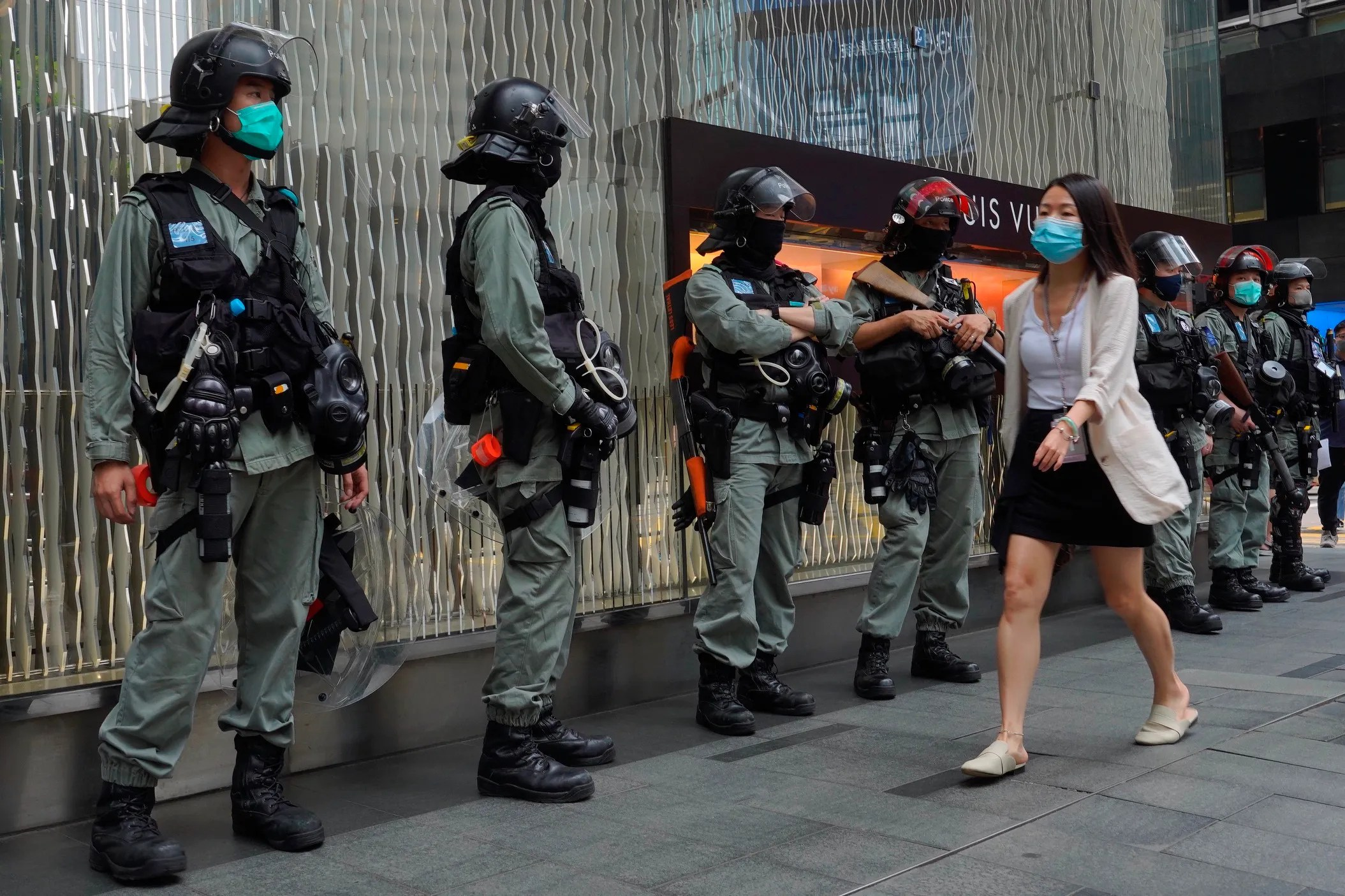 China Approves Contentious Hong Kong National Security