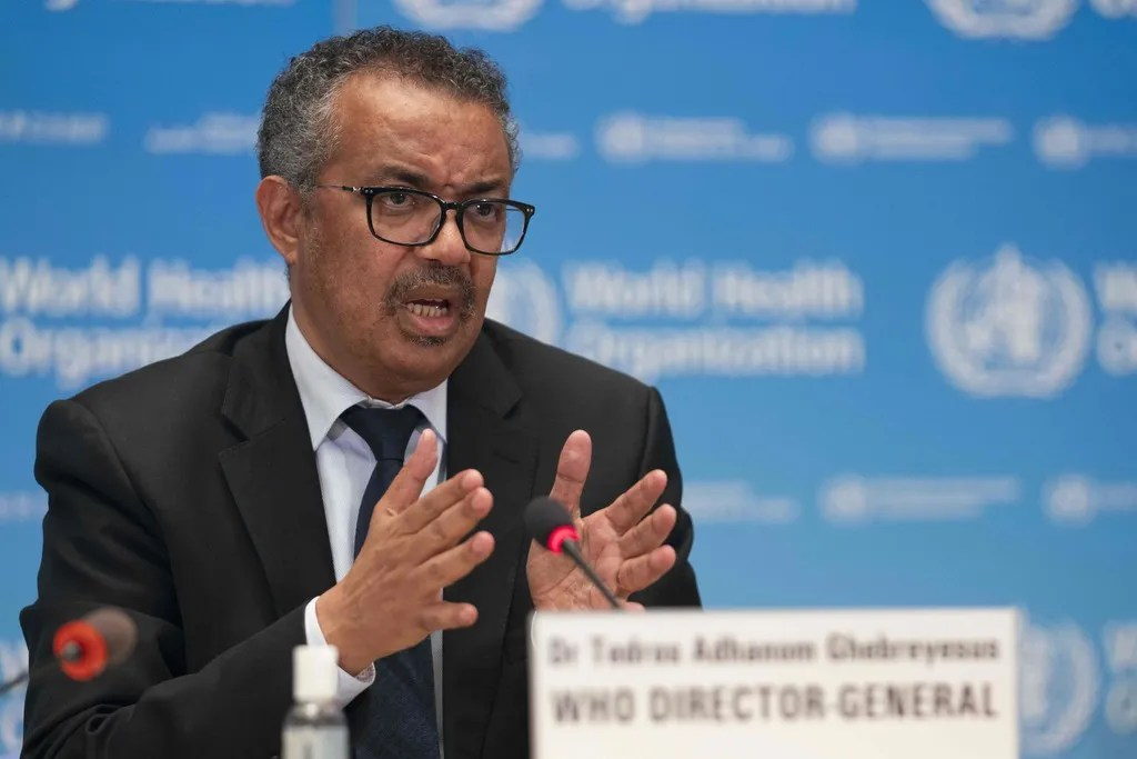 """WHO Director-General Tedros Adhanom Ghebreyesus calls inequities in vaccine distribution """"a moral outrage."""""""