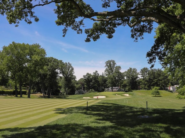 The 10th hole at Winged Foot Golf Club in Mamaroneck on Wednesday, June 17, 2020.