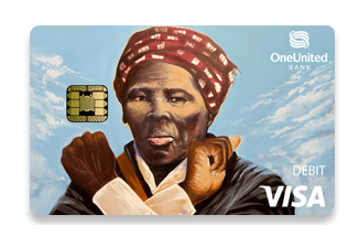 """OneUnited bank puts protest art on its Visa Debit Cards """"to show the world that Black Money Matters,"""" the company said."""