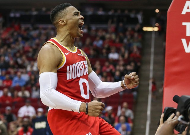 Houston Rockets guard Russell Westbrook