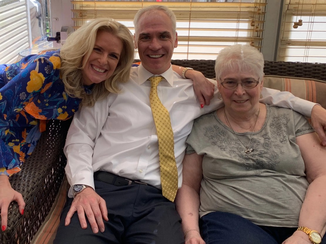 Janice Dean, Sean Newman, and Dee Newman in New York City in May 2019.