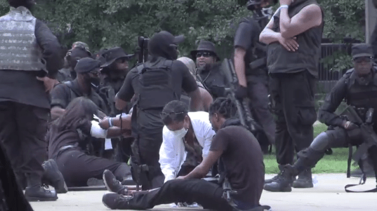 Louisville protests: NFAC leader explains accidental discharge