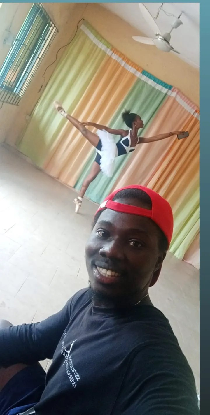 "Trained in finance, 29-year-old Daniel Ajala was smitten by ballet after seeing a screening of ""Save the Last Dance."" Today, he runs the Leap of Dance Academy in a poor neighborhood in Lagos, Nigeria. Recently, a video of one of his students dancing in the rain went viral on social media."