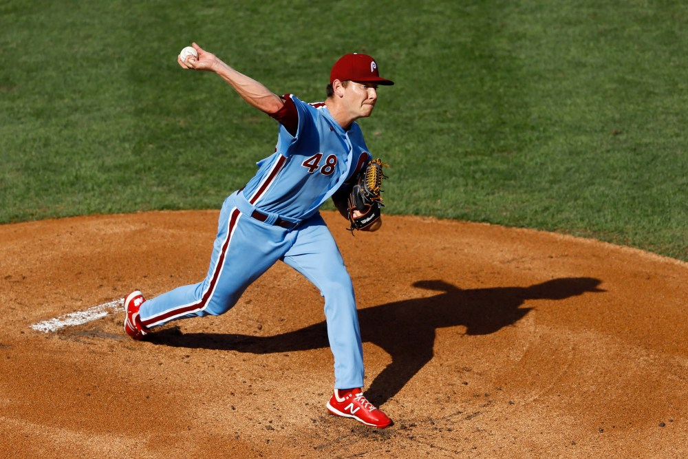 Spencer Howard can't save Phillies in his MLB debut, as Braves sweep