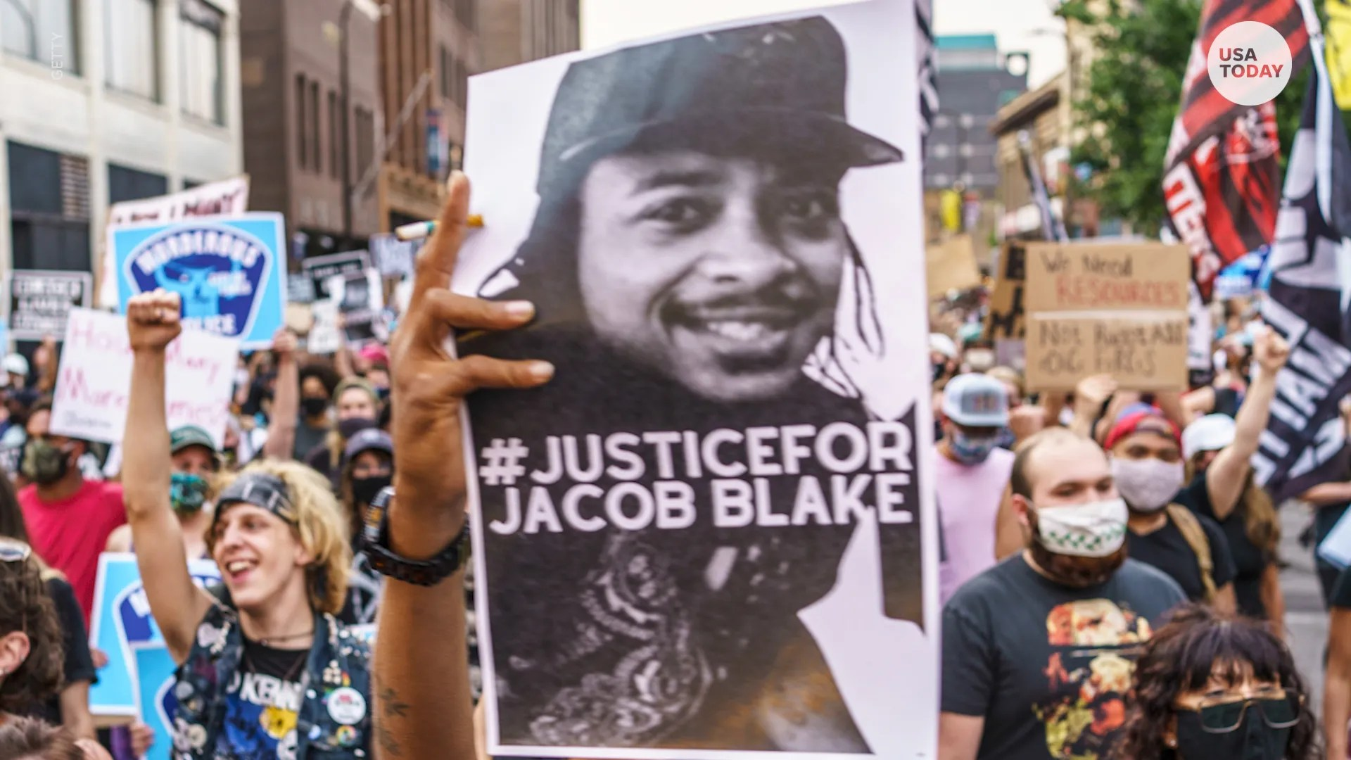 Stars are calling for justice and weighing in on Jacob Blake, a Black man who was shot in the back multiple times by police in Wisconsin.