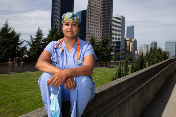At the epicenter of the first major U.S. outbreak of the coronavirus, Seattle, Dr. Sachita Shah said her hospital struggled to keep up with changing CDC testing guidance.