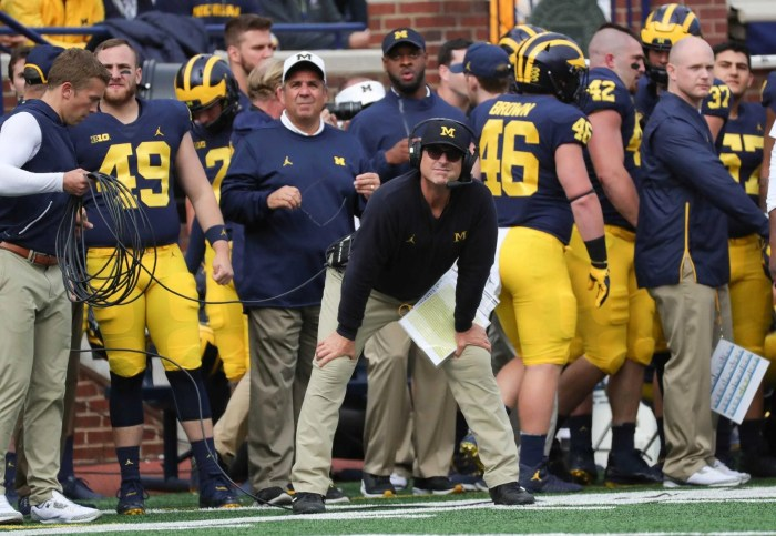 Michigan football hired Jim Harbaugh to win big. He's not even close.