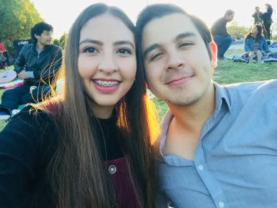 Leonardo Escobosa and Yailin Espinoza fell in love in 2019; he lives in El Paso and she lives in Ciudad Juarez. The border restrictions in place since March 2020 to curb the spread of COVID-19 have complicated their relationship.