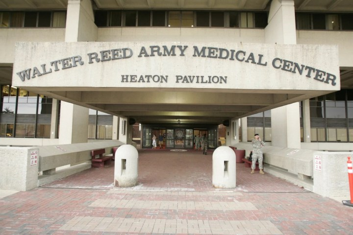 Inside Walter Reed Army Medical Hospital VIP treatment ward
