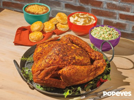 Popeyes is Bringing Back Cajun Style Turkeys for Thanksgiving 2020