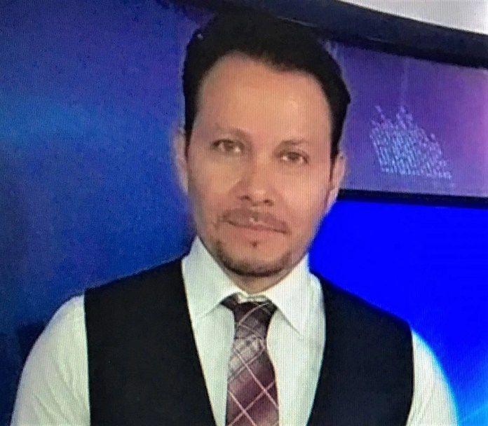 TV journalist Arturo Alba Medina was killed in a shooting in Juárez, Mexico, on Oct. 29, 2020.