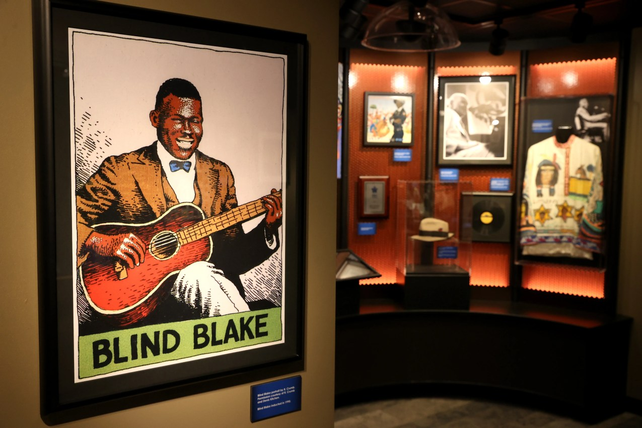 Blues Foundation downtown museum on Tuesday, Nov. 10, 2020.