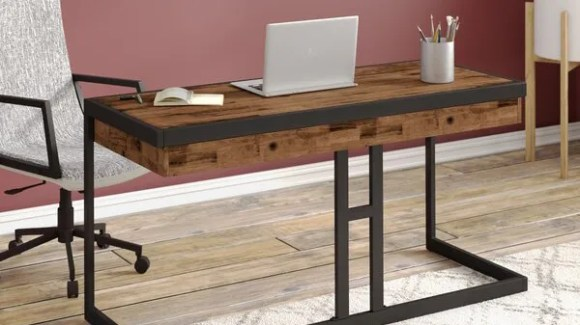 Get your dream work-from-home space on a budget with Wayfair.