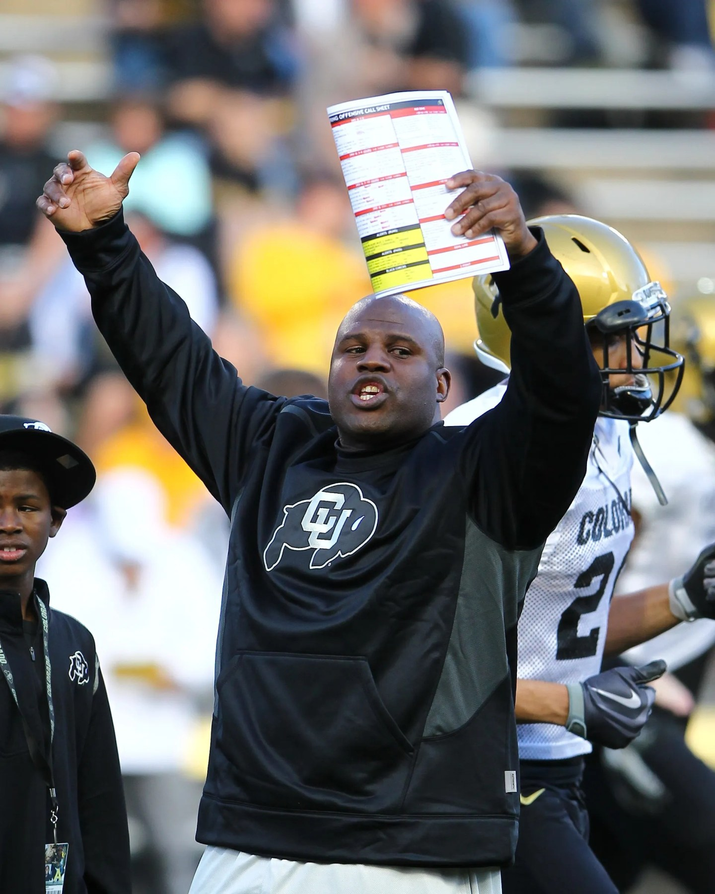 Eric Bieniemy was approached by his alma mater, Colorado, this year about their head coach position but decided to stay with the Chiefs.