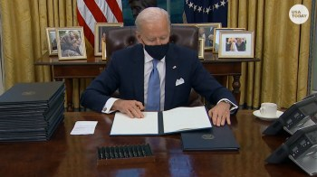 12 Republican state attorneys general sue President Biden over climate change order