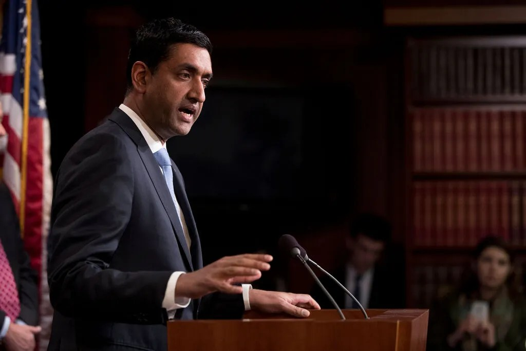 """""""Every person we vaccinate today is a life potentially saved,"""" said Rep. Ro Khanna, D-Calif., in urging the Biden administration to change its vaccine strategy."""
