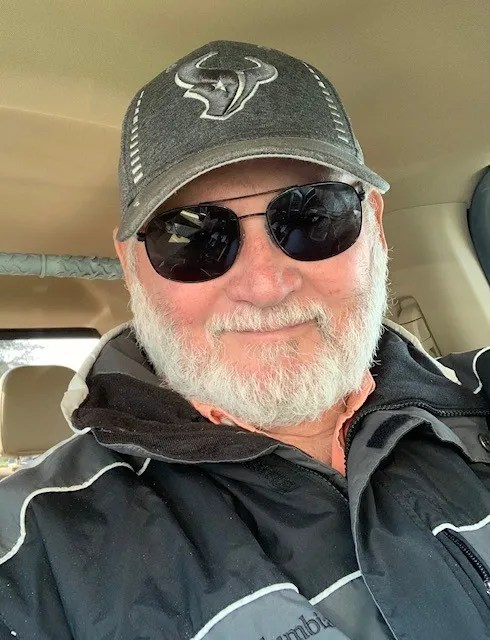 Randy Jones, seen here in November 2019, turned to his Ford F-150 to power his home in Caty, Texas during the blackouts in Texas this month.