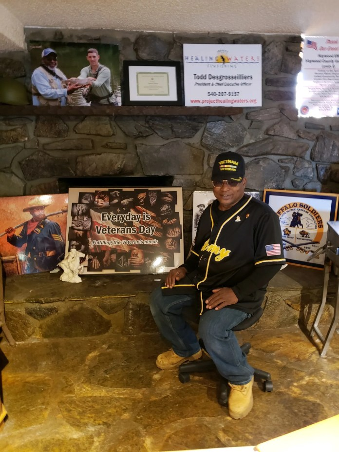 Lewis Oats, a Haywood County native and Vietnam Era veteran, started the nonprofit Everyday is Veterans Day to help veterans with everything from haircuts to food and housing.