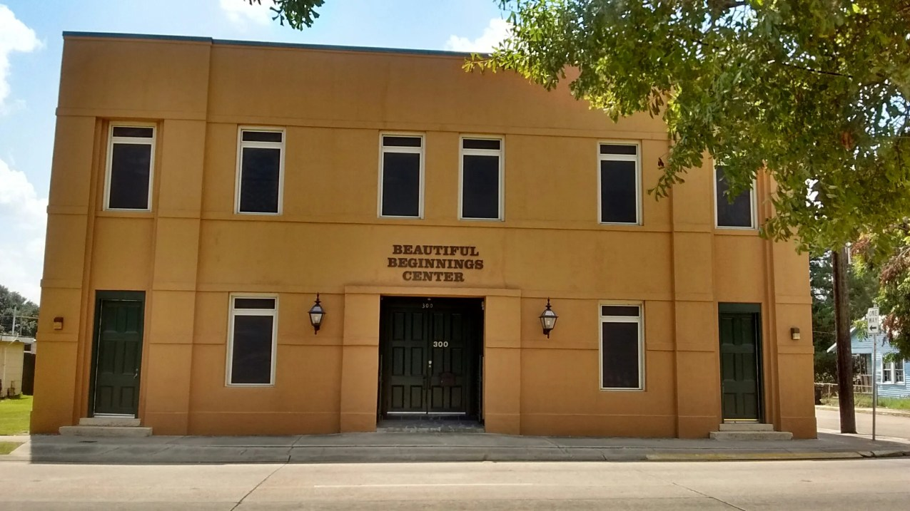 The Beautiful Beginnings Center, at 300 Bond St. in Houma, provides emergency shelter and essential services to homeless families with children.