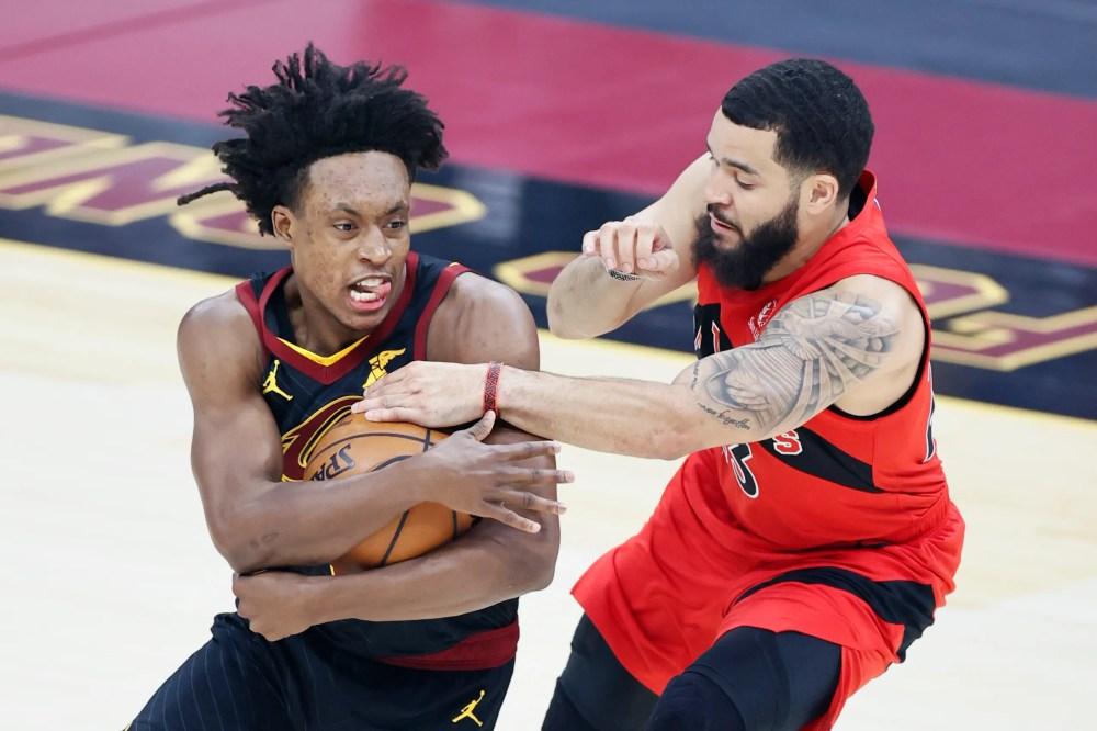 NBA Cavaliers 116, Raptors 105 Collin Sexton Jarrett Allen Dean Wade Darius  Garland