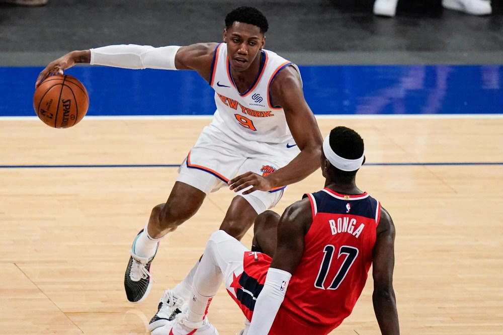 New York Knicks beat Washington Wizards behind RJ Barrett, Alec Burks